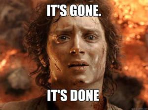 Frodo meme